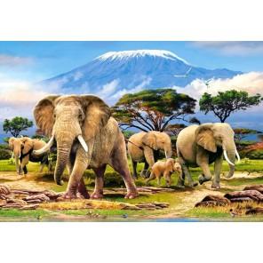 Слоны Пазлы Castorland