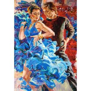 Танцы в бирюзовых тонах Пазлы Castorland