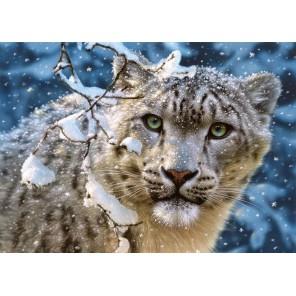 Снежный леопард Пазлы Castorland
