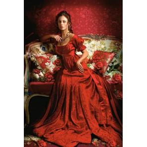 Девушка в красном Пазлы Castorland