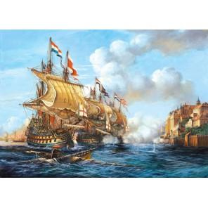 Битва в Порто Белло Пазлы Castorland
