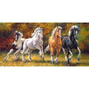 Лошади. Рожденные бежать Пазлы Castorland