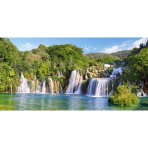 Водопады Крка. Хорватия Пазлы Castorland