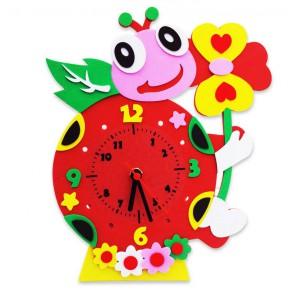 Божья коровка часы Набор для творчества из фоамирана Color Kit