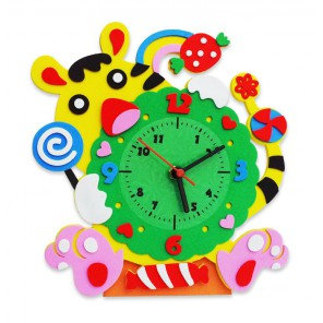 Тигр часы Набор для творчества из фоамирана Color Kit