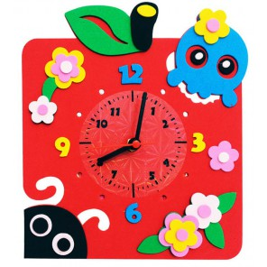 Яблоко часы Набор для творчества из фоамирана Color Kit