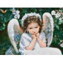Дочка-ангелок Алмазная мозаика на твердой основе Iteso