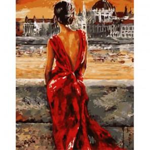 Роковая женщина Раскраска картина по номерам акриловыми красками на холсте
