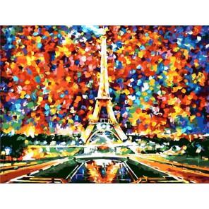 Париж. Моя мечта (художник Леонид Афремов) Раскраска картина по номерам акриловыми красками на холсте
