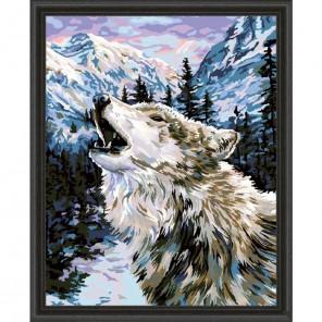 Сумеречная песнь (художник Бэт Хозелтон) Раскраска картина по номерам акриловыми красками Plaid