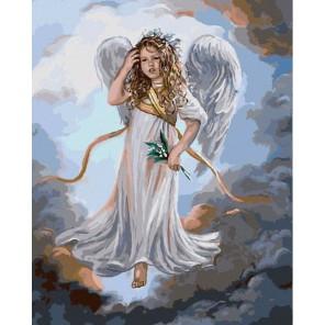 GX3231 Милый ангел (художник Сандра Кук) Раскраска картина по номерам акриловыми красками на холсте