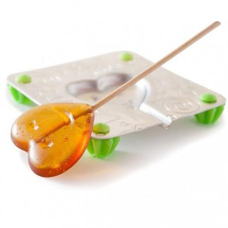 Сердечко Форма для изготовления леденцов, конфет