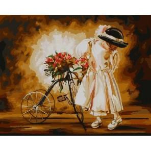 Маленькая леди Раскраска картина по номерам акриловыми красками на холсте Color Kit