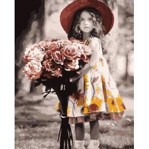 Букет для мамы Раскраска картина по номерам акриловыми красками на холсте Color Kit