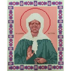 Икона святой Матроны Московской Набор для частичной вышивки бисером Color Kit