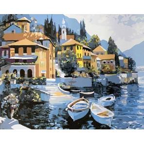 Гавань Раскраска картина по номерам акриловыми красками на холсте Color Kit