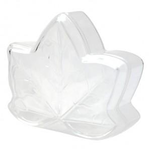 Лист клена Фигурка разъемная из пластика для декорирования
