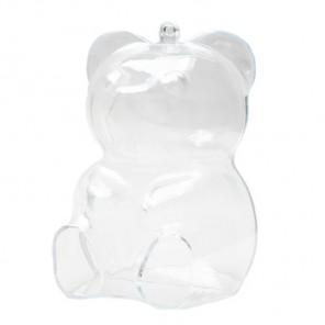 Медведь Фигурка разъемная из пластика для декорирования