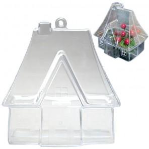 Домик Фигурка разъемная из пластика для декорирования/саше