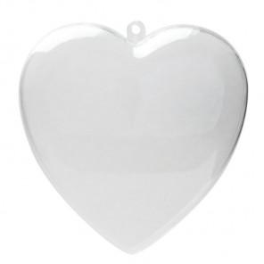 Сердце Фигурка разъемная из пластика для декорирования