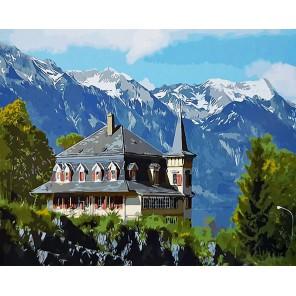 В Швейцарии Раскраска картина по номерам акриловыми красками на холсте