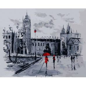 Лондон вечером Раскраска картина по номерам акриловыми красками на холсте