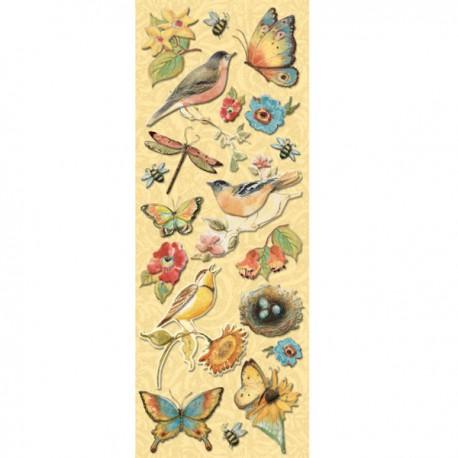 Птицы Стикеры для скрапбукинга, кардмейкинга K&Company