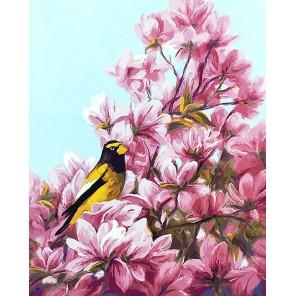 Цветение (художник Л. Билоду) Раскраска картина по номерам акриловыми красками на холсте