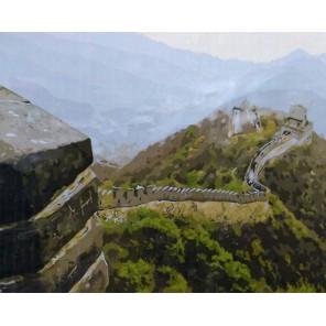 Китайская стена Раскраска картина по номерам акриловыми красками на холсте