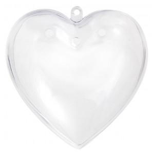 Сердце-саше Фигурка разъемная из пластика для декорирования