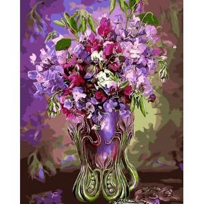 Цветочное великолепие (художник Кэрол Каваларис) Раскраска картина по номерам акриловыми красками на холсте