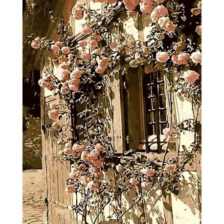 Сказочный дом Раскраска картина по номерам акриловыми красками на холсте