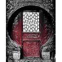 Резная дверь Раскраска картина по номерам акриловыми красками на холсте