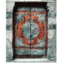 Потайная дверь Раскраска картина по номерам акриловыми красками на холсте