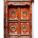 Дверь под старину Раскраска картина по номерам акриловыми красками на холсте