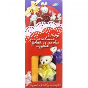 Шоколадные конфеты Внешний вид Набор для создания букета из 3-х игрушек