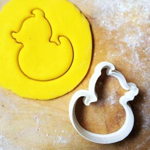 Утёнок Форма для вырезания печенья и пряников