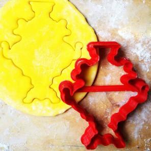 Самовар Форма для вырезания печенья и пряников