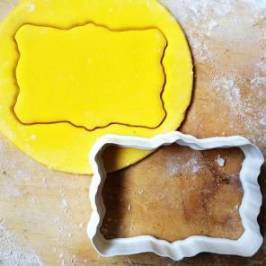 Рамочка фигурная Форма для вырезания печенья и пряников