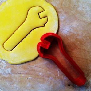 Гаечный ключ Форма для вырезания печенья и пряников