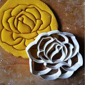 Роза со штампом Форма для вырезания печенья и пряников