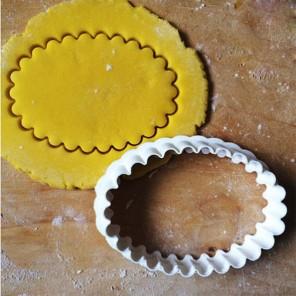 Волнистый овал Форма для вырезания печенья и пряников