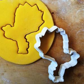 Нолик из Фиксиков Форма для вырезания печенья и пряников