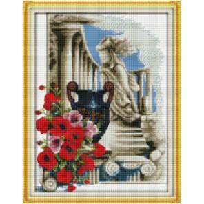 Вечная античность Алмазная мозаика на подрамнике Цветной