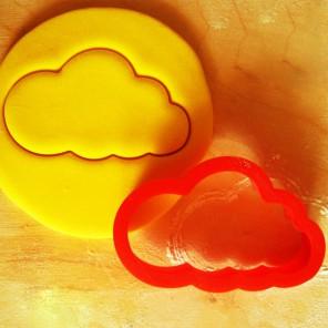 Облачко Форма для вырезания печенья и пряников
