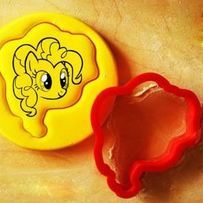 Красивая Пинки Пай Форма для вырезания печенья и пряников