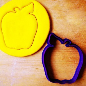 Сочное яблоко Форма для вырезания печенья и пряников