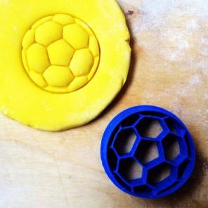 Мячик футбольный Форма для вырезания печенья и пряников