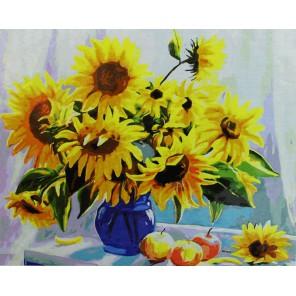 Солнечное настроение Раскраска картина по номерам акриловыми красками на холсте