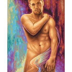 Мужчина Раскраска картина по номерам акриловыми красками Schipper (Германия)